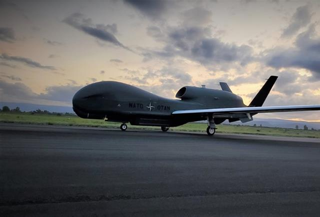 First NATO AGS Aircraft Arrives to Sigonella