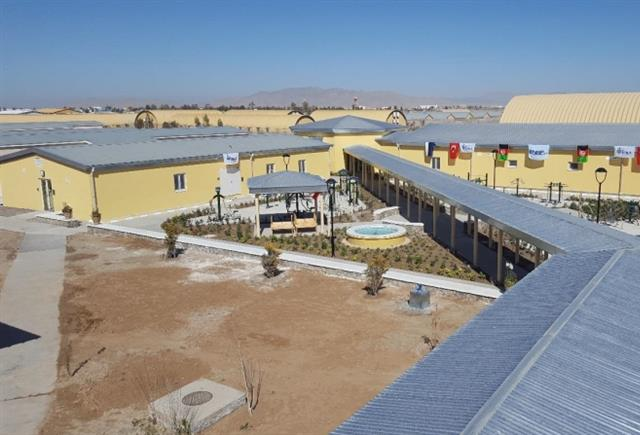 NSPA completes construction of the Wounded Warrior Centre (WWC) at Camp HERO, Kandahar