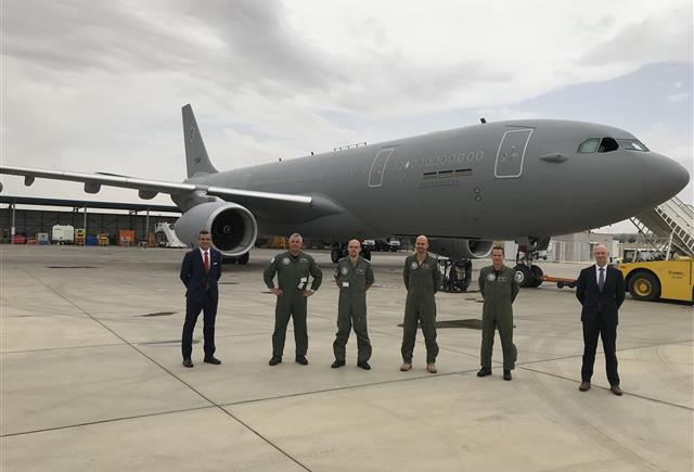 NSPA delivers second MMF aircraft to the Multinational MRTT Unit