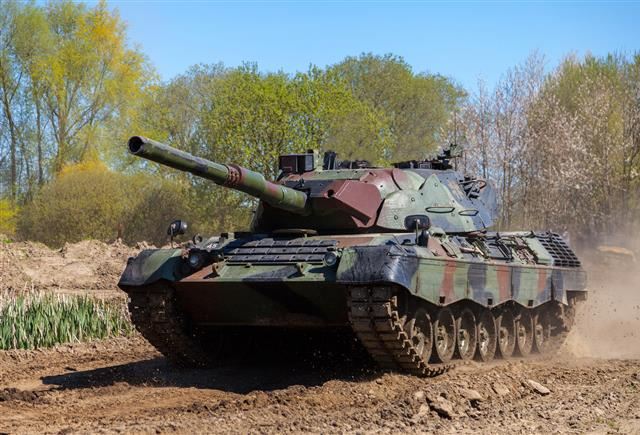 NSPA successfully completes Dismantling and Disposal of 483 Leopard1 Main Battle Tanks