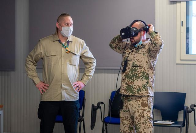 NSPA develops first NATO AGS Virtual Reality Training