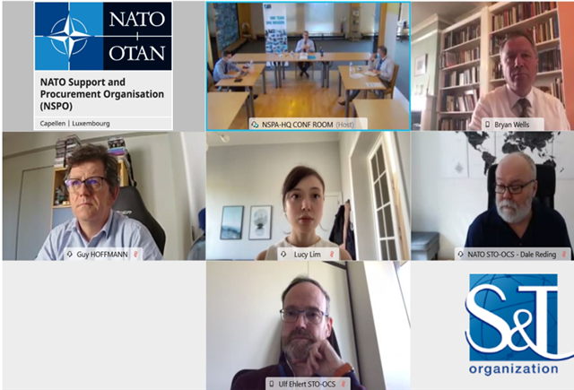 NSPA General Manager meets NATO Chief Scientist